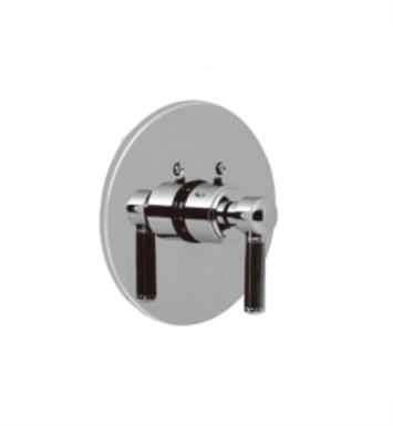 "Santec 7093EN20-TM Enzo Thermostatic Shower - Trim Only with EN Handle (Includes 3/4"" Trim Plate and Handle, Requires Separate Volume Control) Valve Not Included Uses TH-5034 Valve With Finish: Orobrass <strong>(USUALLY SHIPS IN 4-5 WEEKS)</strong>"