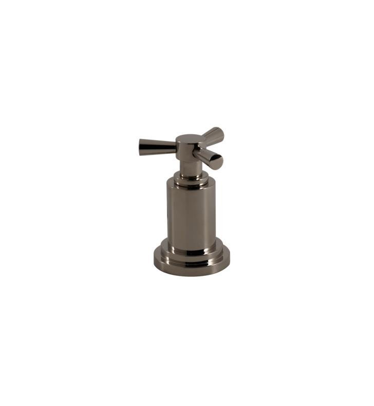 Santec YY-TX15-TM Modena II Wall Mount Volume Control Handle Trim with TX Handle (Used for SASTOP12, SASTOP34, SA-CORNER-SET Valves) With Finish: Satin Chrome <strong>(USUALLY SHIPS IN 4-5 WEEKS)</strong>