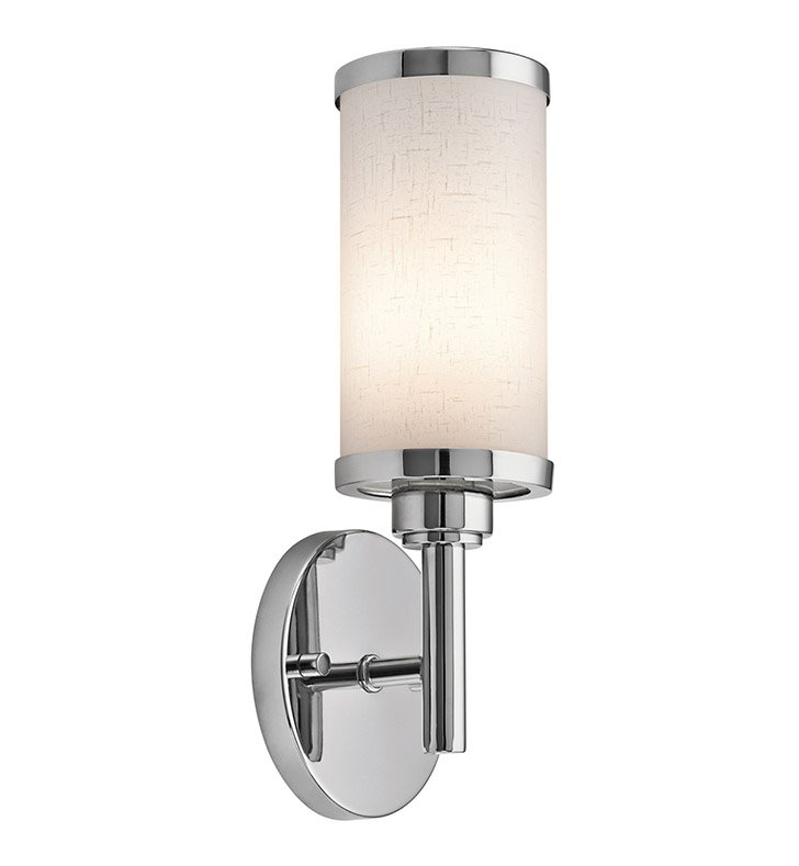 Kichler 10680CH Wall Sconce 1 Light Fluorescent in Chrome