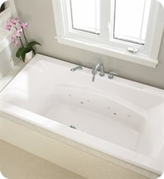 "Neptune 110944.0000 Believe BE4272 72"" Customizable Drop-In Rectangular Bathtub"