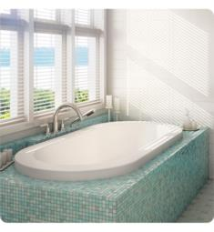 "Alcove A117412.0000 Tulipe 460 AA 60"" Customizable Drop-In Oval Bathtub"