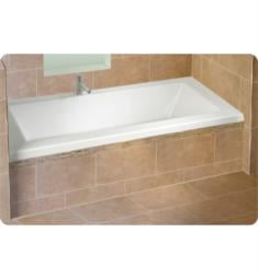 "Alcove A110120.4 Flory De Colt 7766 AA3 66"" Customizable Rectangular Bathtub with Tiling Flange"