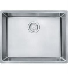 "Franke CUX11021-ADA Cube 22 3/4"" Single Bowl Undermount Stainless Steel Kitchen Sink"