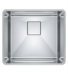 "Franke PTX110-20 Pescara 20 5/8"" Single Bowl Undermount Stainless Steel Kitchen Sink"