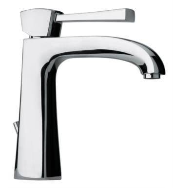 "LaToscana 89PW211 Lady 7 7/8"" Single Handle Deck Mounted Bathroom Sink Faucet with Pop-Up Drain With Finish: Brushed Nickel"