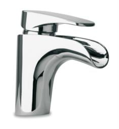 "LaToscana 86211WF Novello 6"" Waterfall Single Handle Deck Mounted Bathroom Sink Faucet with Pop-Up Drain"