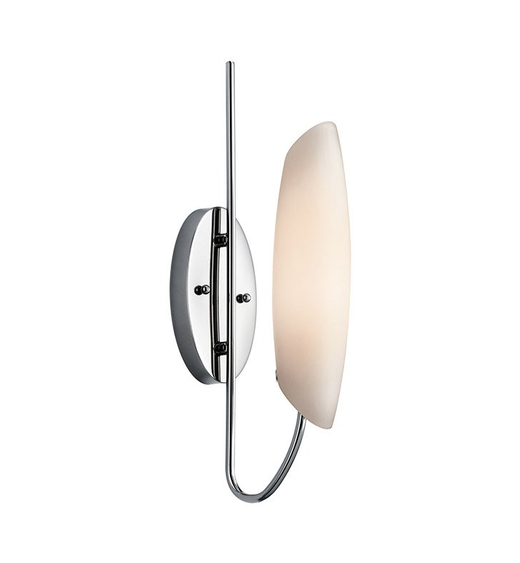 Kichler 45212CH Stella Collection Wall Sconce 1 Light in Chrome