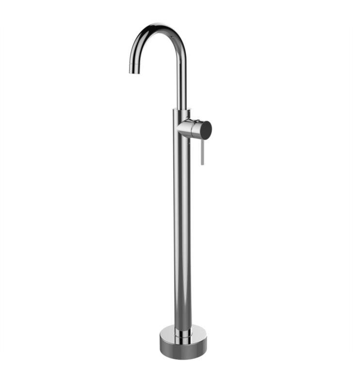 "LaToscana 78138 Elba 39 1/8"" Single Handle Floor Mounted Vessel Filler"