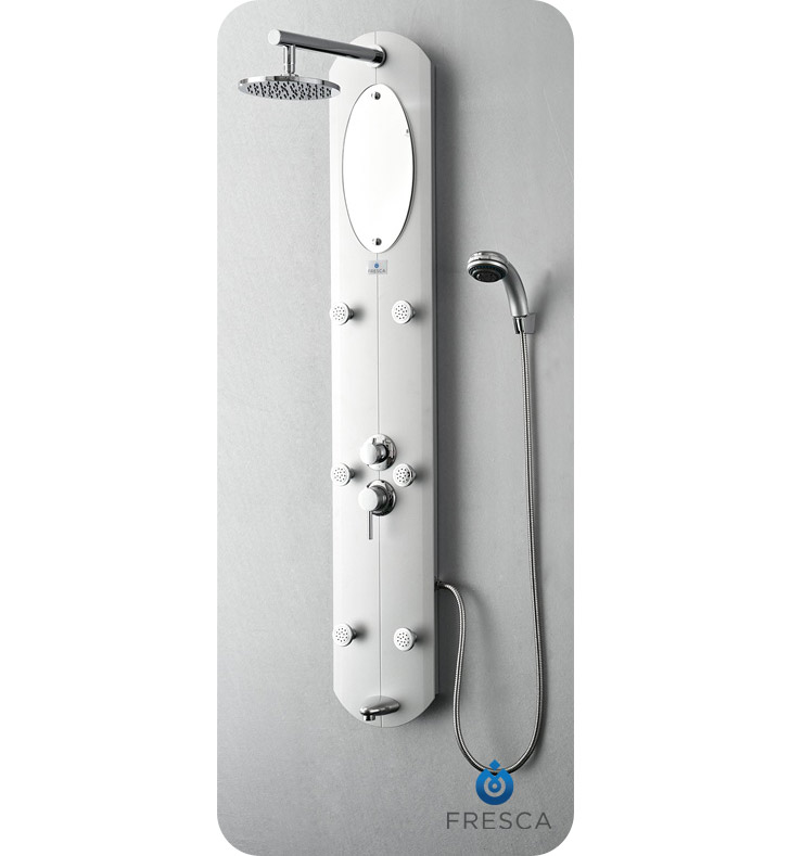 Fresca FSP8010SL Novara Shower Massage Panel in Silver