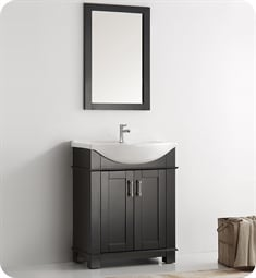 "Fresca FCB2303BL-I Hartford 30"" Black Traditional Bathroom Vanity"