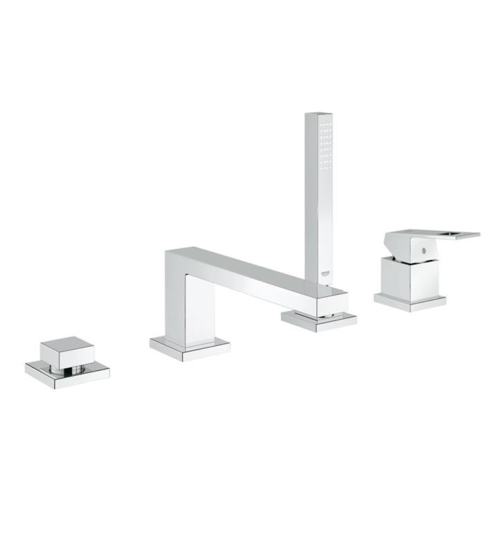 Grohe 19897001 Eurocube 8 3 4 Quot Four Hole Widespread Deck