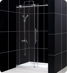 DreamLine SHDR-61 Enigma-X Fully Frameless Sliding Shower Door