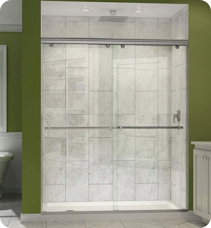 DreamLine SHDR-1360728 Charisma Frameless Sliding Bypass Shower Door
