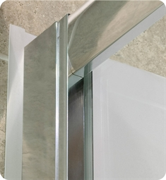DreamLine SHDR-1160726 Visions 56 to 60 in. Frameless Sliding Shower Door