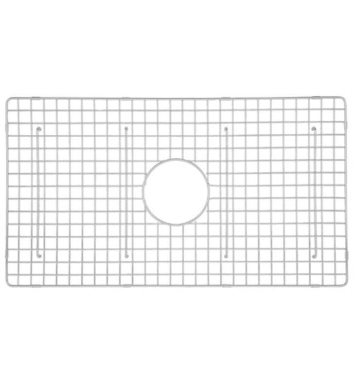 "ROHL WSG3017WH 26 3/8"" Stainless Steel Wire Sink Grid for RC3017 Kitchen Sink With Finish: White"