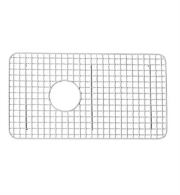 "ROHL WSG3018WH 26 3/8"" Stainless Steel Wire Sink Grid for RC3018 Kitchen Sink With Finish: White"