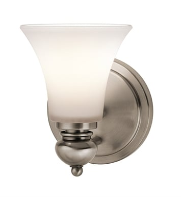 Kichler 45046CLP Wall Sconce 1 Light in Classic Pewter