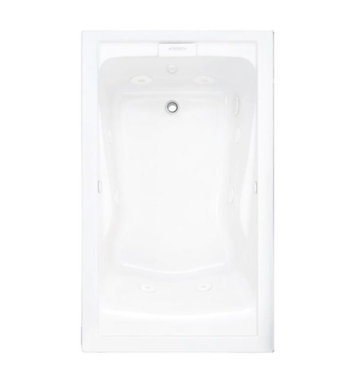 American Standard 2771VC Evolution 60 Inch by 36 Inch Deep Soak EverClean Whirlpool