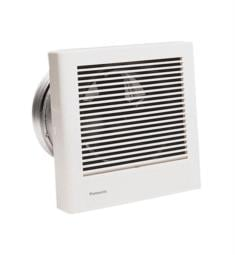 Panasonic FV-08WQ1 WhisperWall 20/40 CFM Wall Mount Bathroom Exhaust Fan with Off Switch in White