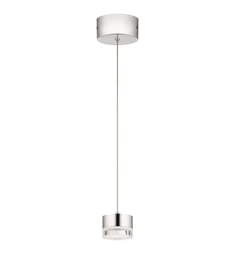 Elan Lighting 84016 Avenza LED Mini Pendant in Chrome Finish