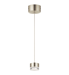 Elan Lighting 84017 Avenza LED Mini Pendant in Brushed Nickel Finish