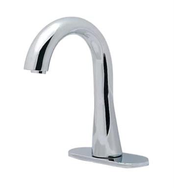 "TOTO TEL5GG60R#CP 5 3/4"" 1.0 GPM Thermal Mixing Gooseneck Bathroom Sink Faucet in Polished Chrome"