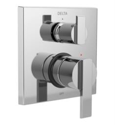 "Delta T24867 Ara 14 Series 6 7/8"" Single Function Pressure Balanced Valve Trim with 3-Setting Integrated Diverter"