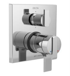 "Delta T27967 Ara 17 Series 6 7/8"" Dual Function Pressure Balanced Valve Trim with 6-Setting Integrated Diverter"