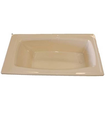 "American Acrylic BR-21A 36""x72"" Rectangular Bathtub With Jet Mode: Air (16 jets)"