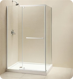 DreamLine SHEN-113 Quatra Frameless Pivot Shower Enclosure