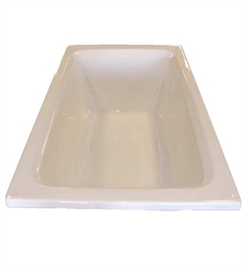 "American Acrylic BR-37C 42""x60"" Rectangular Bathtub With Jet Mode: Combo (Whirlpool & Air Jets)"
