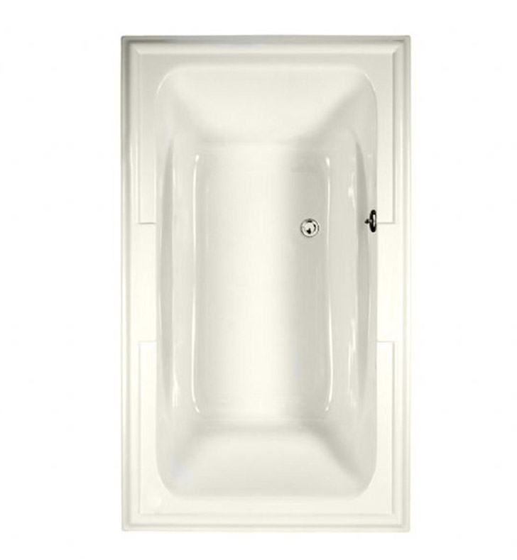 American Standard 2742068C.020 Town Square 72 Inch by 42 Inch Customizable Bathtub in White