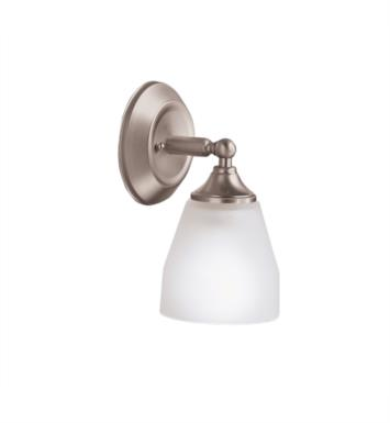 "Kichler 5446NI Ansonia 1 Light 5 1/2"" Incandescent Wall Sconce in Brushed Nickel"