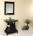"Fresca FVN3332ES Cortese 32"" Espresso Modern Bathroom Vanity with Mirror"