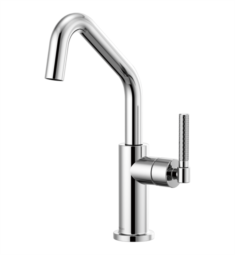 Brizo 61063LF Litze Bar Faucet with Angled Spout and Knurled Handle