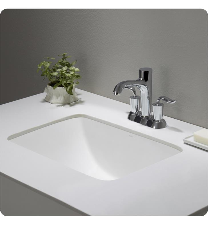 Kraus 20 7 8 Quot Large Rectangular Ceramic Undermount Bathroom Sink Kcu 241 846639023887 Ebay