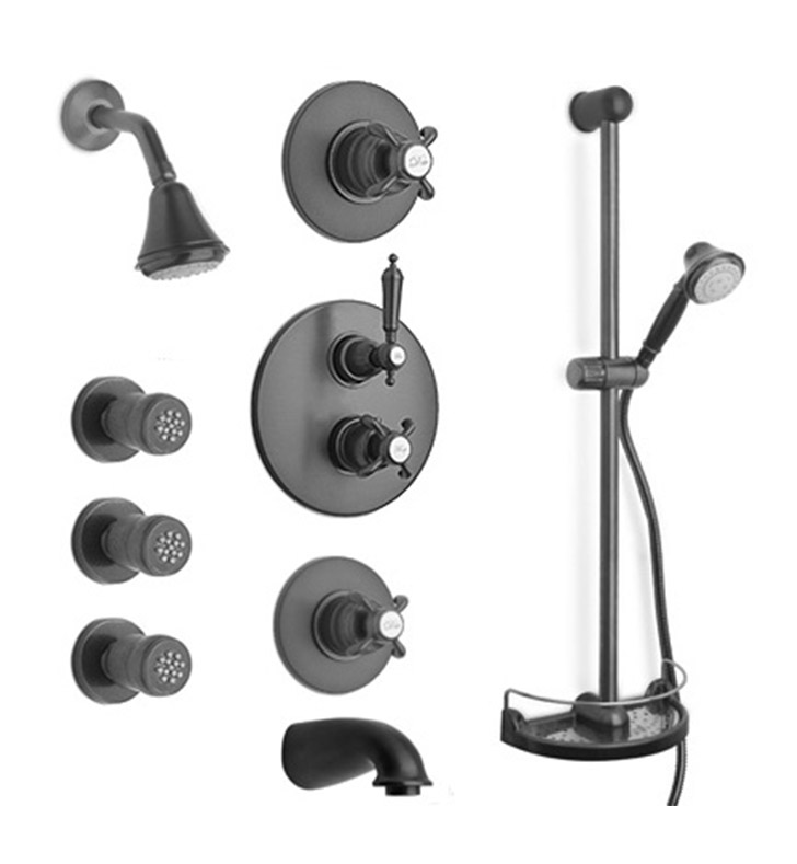 LaToscana OR-OPTION8 Ornellaia Thermostatic Shower System