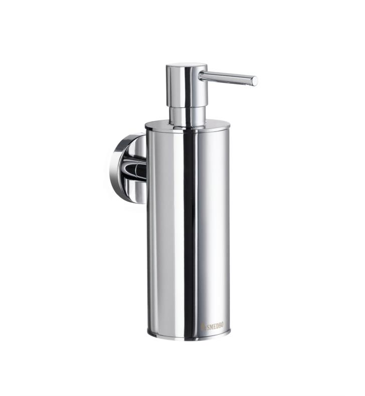 "Smedbo HK370 Home 2"" Wall Mount Soap Dispenser With Finish: Polished Chrome"