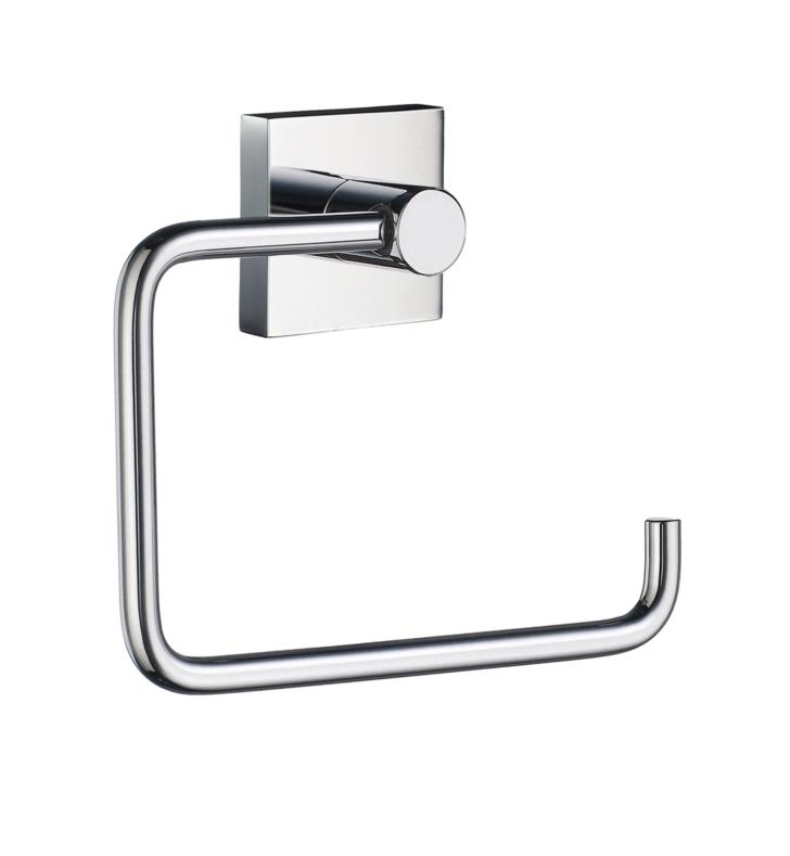 "Smedbo RK341 House 5 3/4"" Wall Mount Euro Toilet Roll Paper Holder in Polished Chrome With Finish: Polished Chrome"