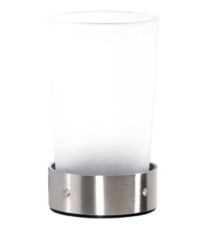 "Cool Lines CSB107 Crystal Steel 2 3/4"" Free Standing Counter Top Tumbler/Holder With Finish: Black"