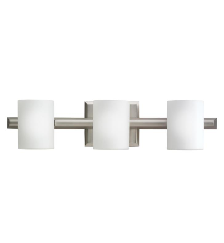 "Kichler 5967NI Tubes 3 Light 21"" Halogen Wall Mount Bath Light in Brushed Nickel"