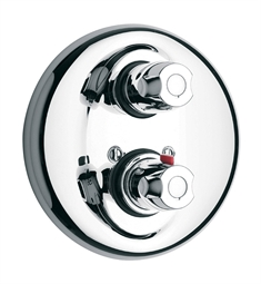 LaToscana 3TCR690 Water Harmony Thermostatic Shower Valve with Volume Control in Chrome