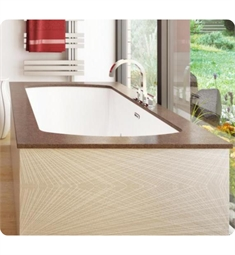 "BainUltra BMLSRBOO Monarch Grand Luxury 7236 72""x36"" Customizable Drop-In Bath Tub"