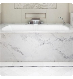 "BainUltra BMLURB00 Monarch Grand Luxury 7240 72""x40"" Customizable Drop-In Bath Tub"