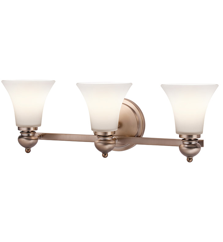 Kichler 45048CLZ Bath 3 Light in Classic Bronze