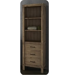 "Fairmont Designs 1507-LT2416 Napa 24x16"" Linen Tower in Sonoma Sand"