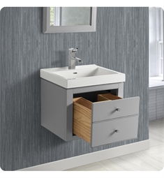 "Fairmont Designs 1510-WV2118 Charlottesville 21x18"" Wall Mount Vanity in Light Gray"