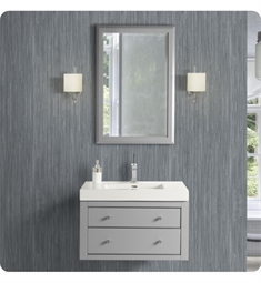 "Fairmont Designs 1510-WV3018 Fairmont Designs Charlottesville 30x18"" Wall Mount Vanity in Light Gray"