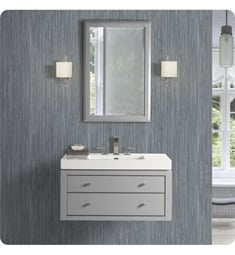 "Fairmont Designs 1510-WV3618 Charlottesville 36x18"" Wall Mount Vanity in Light Gray"