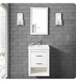 "Fairmont Designs 1517-WV2118 Studio One 21x18"" Wall Mount Vanity in Glossy White"
